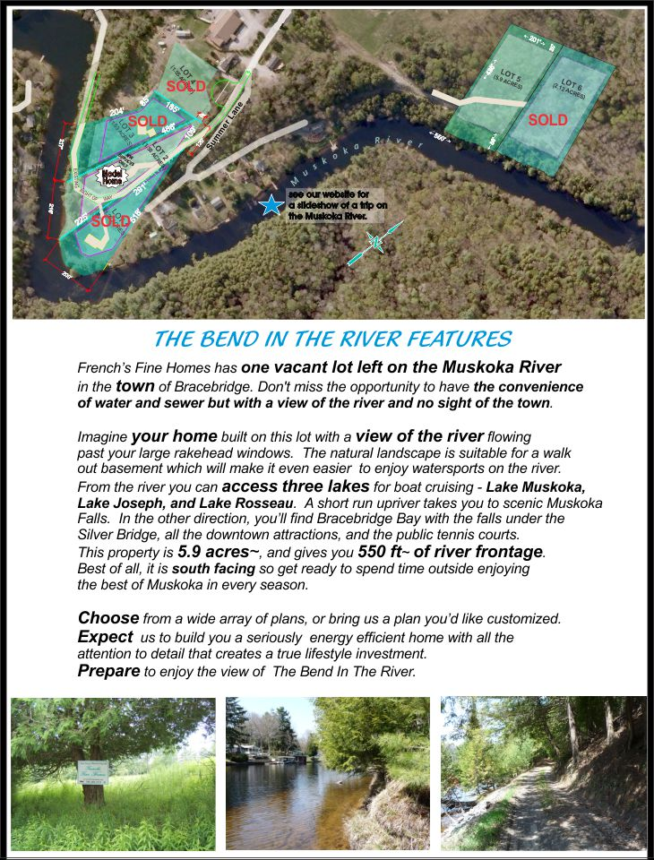 Bend in the River Property Information
